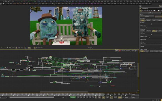 Postproduktion - 3D Animation