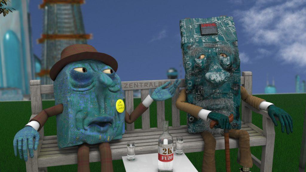 Animation Galerie - Characteranimation 2